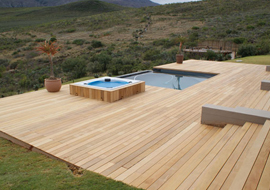Exterioir decking, treated decking, deck timber, CCA Treated Decking
