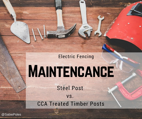 Electric Fence Supplies Steel Posts Vs Cca Treated