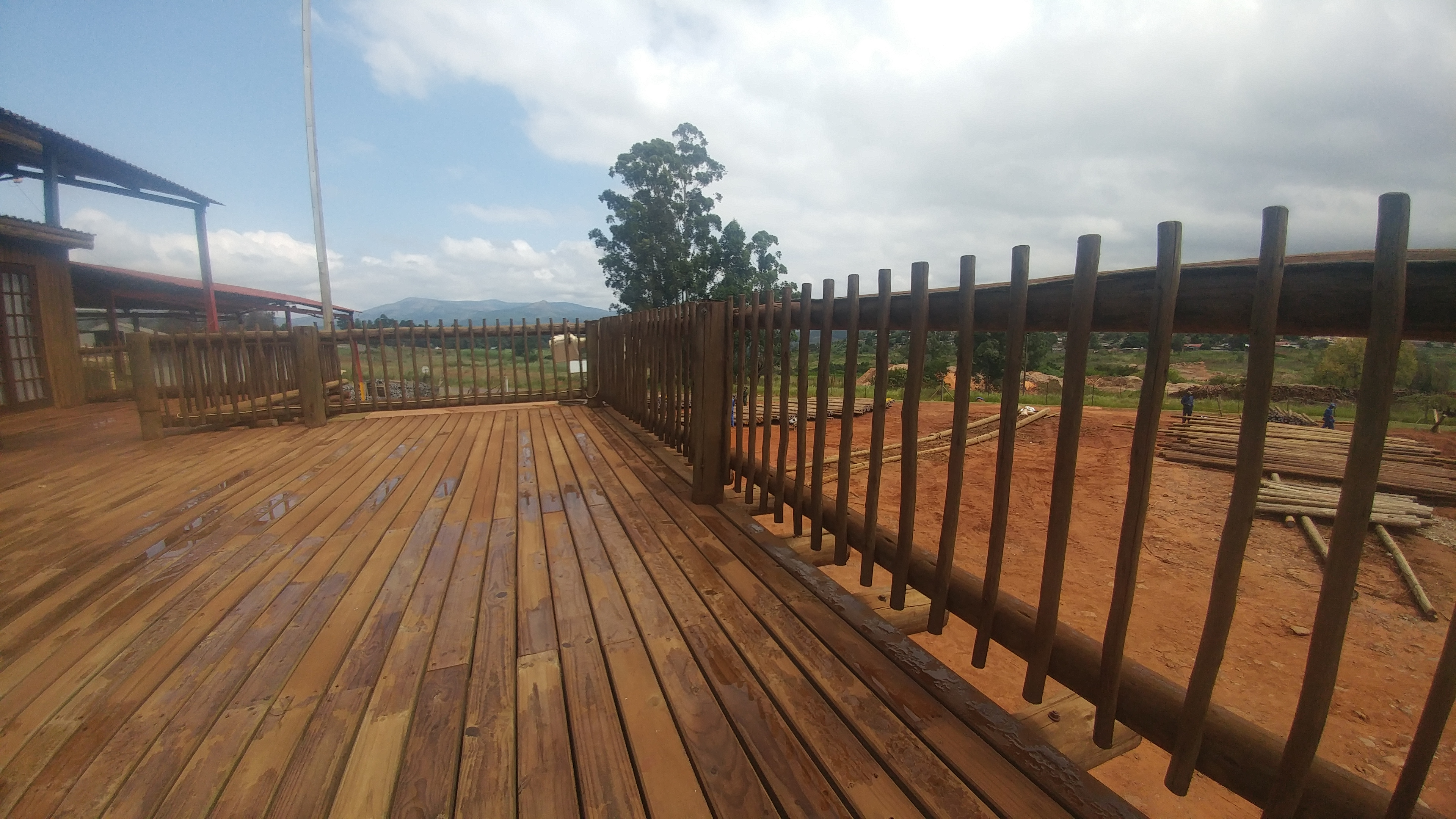 Decking and Fencing Building Materials
