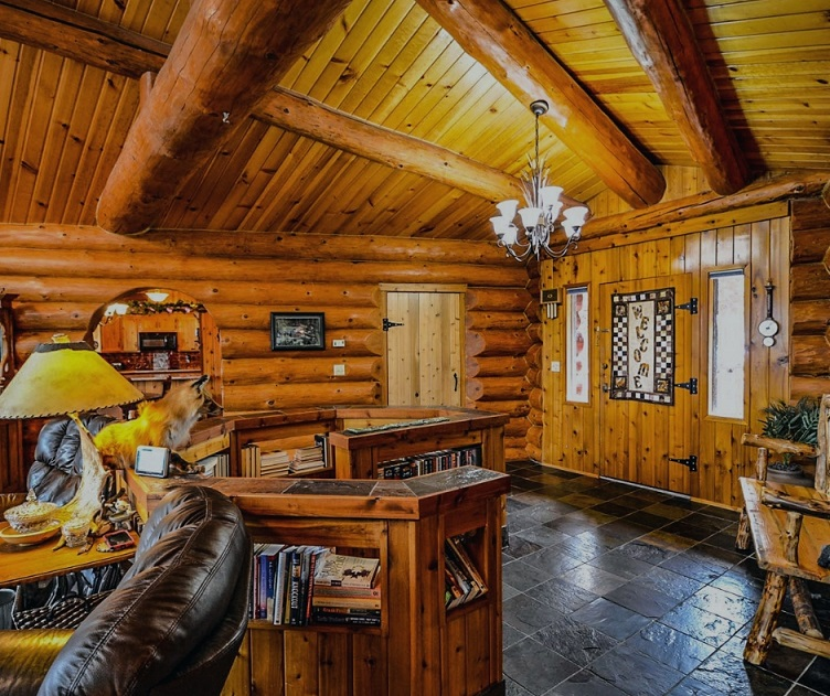 Log Cabin: Rustic Decor and Home Plans