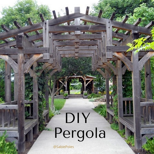 Pergola Ideas Diy: Verandah And Pergola Ideas: Garden DIY ⋆ Sabie Poles