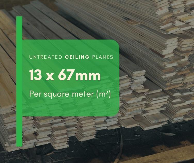 Ceiling Planks m²