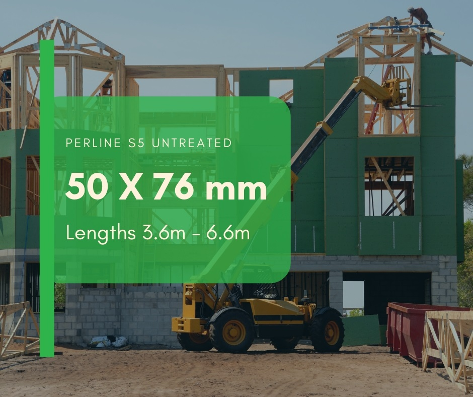 Untreated S5 Perline Construction Timber