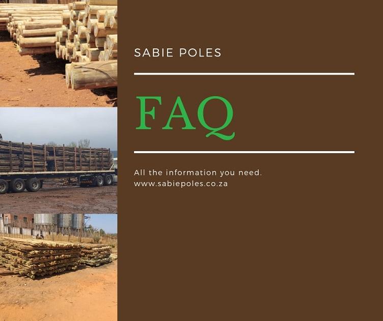 Timber Product Sabie Poles