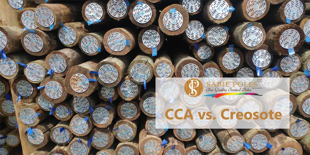 Treated Poles: CCA vs. Creosote