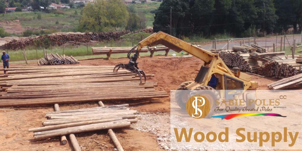 Wood Supply: Gum Poles, Fencing Materials, Moldings and more